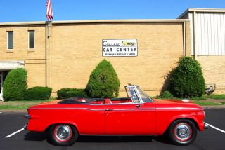 1961 Lark Viii Convertible With R4 Engine Upgrades,  4 - Speed,  Full Restoration photo