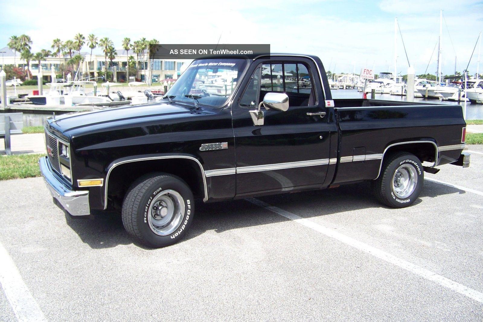 1984 Gmc Sierra Classic 1500 Pick Up Truck