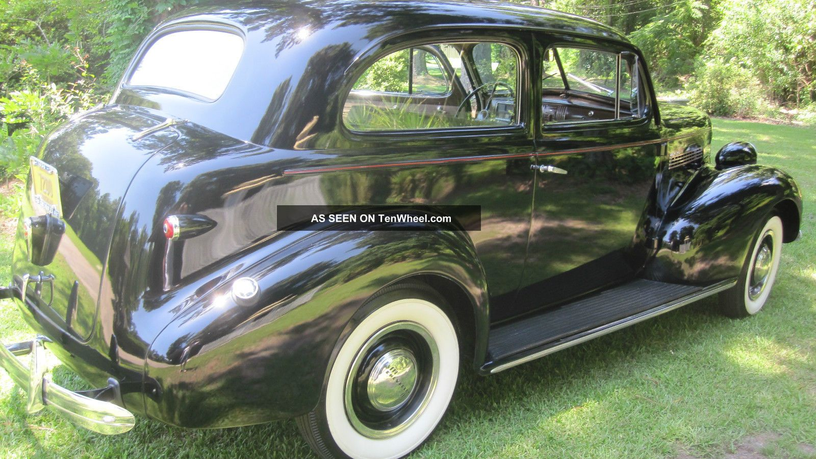 1939 Chevy Sedan 2dr Master 85