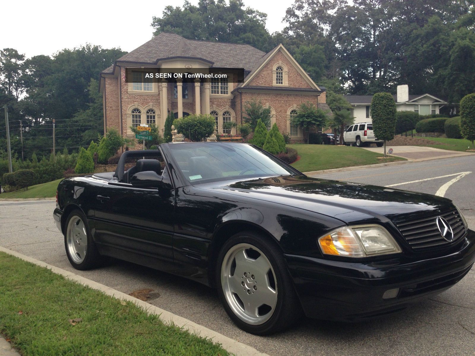 1999 Mercedes - Benz Sl500 Base Convertible 2 - Door 5.  0l - SL-Class photo