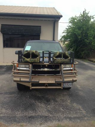 1999 4x4 Surburban With Custom Grill Guards photo