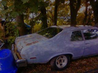 1974 Chevy Nova Custom 2 Door + 350 4 Bolt Main Project / Collector photo