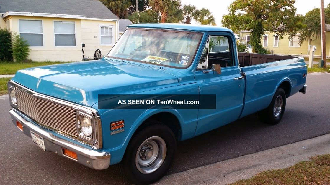 1972 Chevy 350 Truck V8 Auto Other Pickups photo