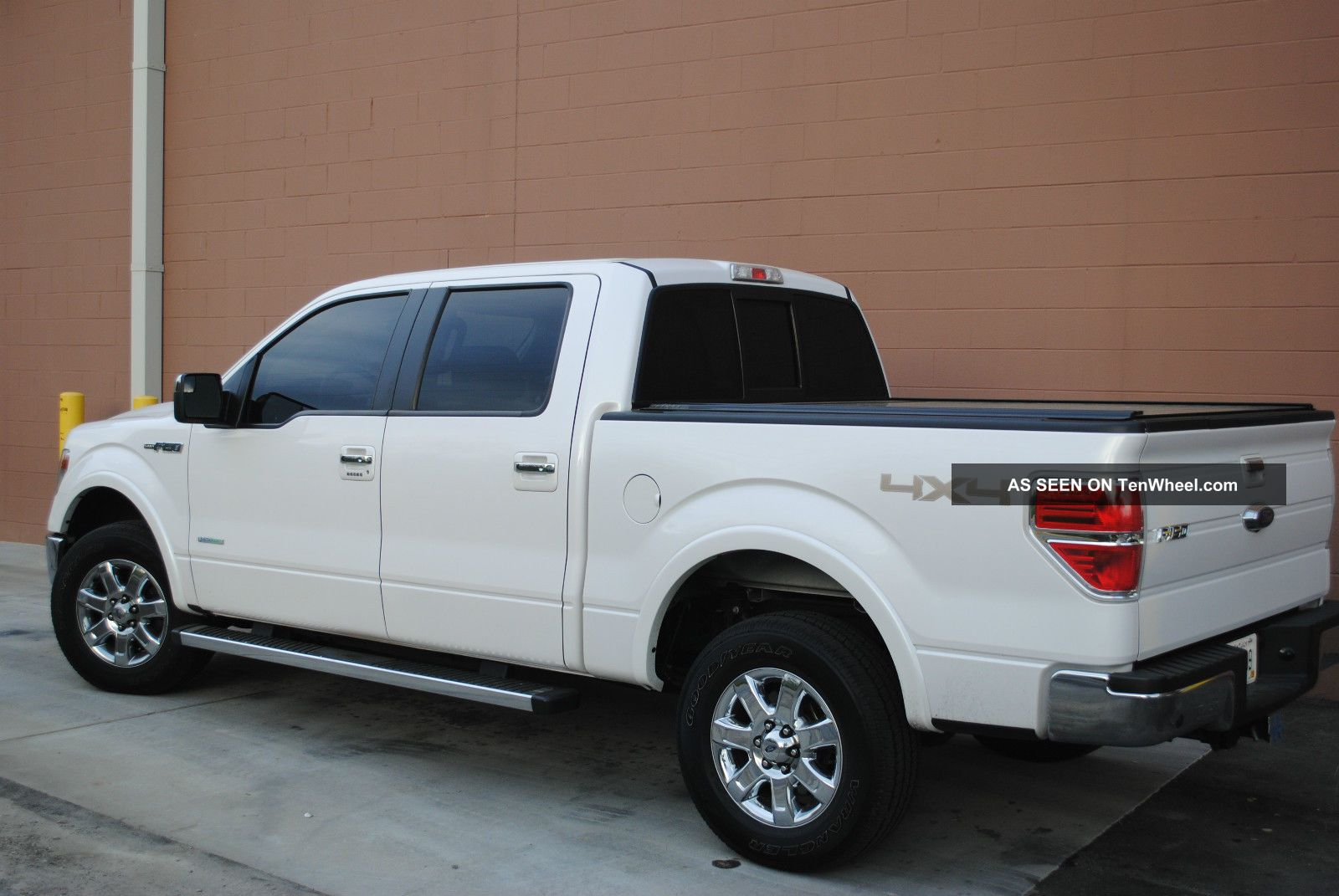 2013 ford f150 lariat 4x4 ecoboost supercrew white platinum tri coat. Black Bedroom Furniture Sets. Home Design Ideas