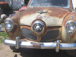 1951 Studebaker Commander V8 Automatic Land Cruiser Bullet Nose Rat Rod Other photo
