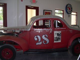 Vintage Race Car - 1940 Ford - Moody 28 photo