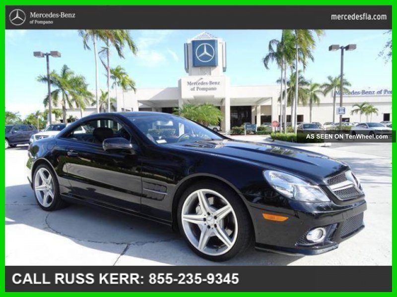 2009 Sl550 5.  5l V8 32v Automatic Rear Wheel Drive Convertible Premium Sport Pano SL-Class photo