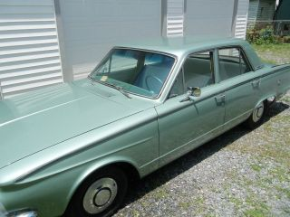 1963 Plymouth Valiant 225 Slant 6 Engine photo