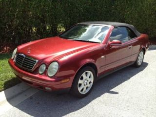 1999 Mercedes - Benz Clk320 Base Convertible 2 - Door 3.  2l photo