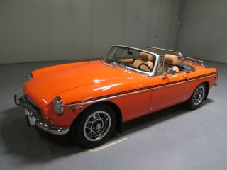 1973 Mg Mgb Mkiii Roadster 1.  8l photo