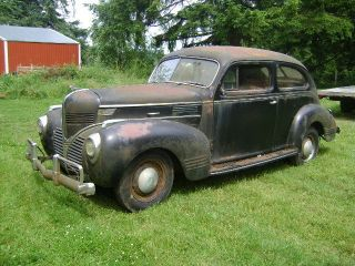 1939 Dodge 2 Door Sedan,  Barn Find,  Ratrod,  Hotrod,  Project, photo