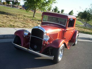 Rare 1932 Plymouth 3 Window Coupe photo