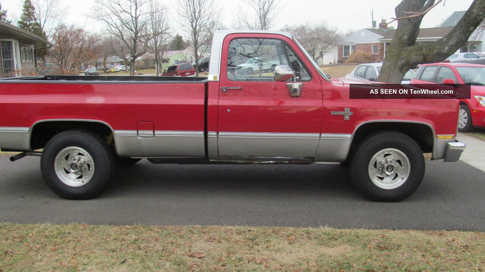 1985 chevrolet silverado c20 3 4 ton pickup camper package. Black Bedroom Furniture Sets. Home Design Ideas