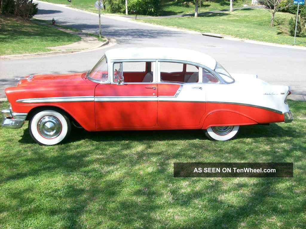 1956 Chevrolet 4 Door Belair Sedan Bel Air/150/210 photo