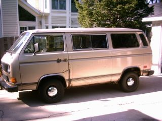 1985 Volkswagen Vanagon Gl Standard Passenger Van 3 - Door 2.  1l Drives Great photo