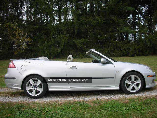 2006 Saab 9 - 3 Aero Convertible 2.  8l Turbo 6 - Speed 9-3 photo