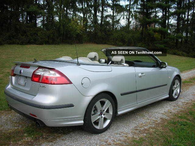 2006 saab 9 3 aero convertible 2 8l turbo 6 speed. Black Bedroom Furniture Sets. Home Design Ideas