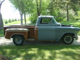 1957 Gmc Chopped Hot Rod Truck Project photo