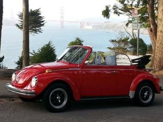 1974 Volkswagen Beetle Karmann Convertible Ghia photo