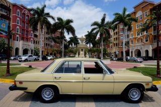 1975 Mercedes - Benz 300d Turbo Diesel Fl photo