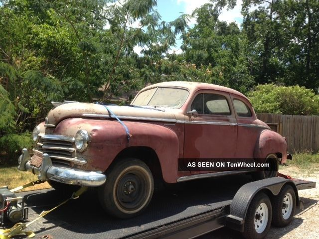 1948 Plymouth Coupe Other photo