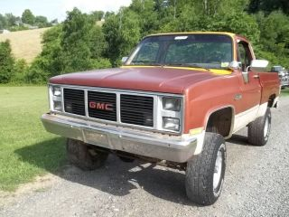 1987 Chevrolet Ck 1500 Gmc 4x4 photo