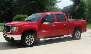 2010 Gmc Sierra 1500 4x4 Sle Crew Cab Pickup 4 - Door 5.  3l photo
