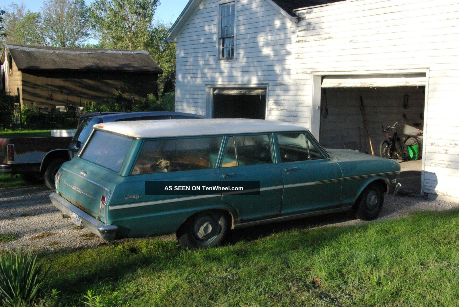 1963 Nova Wagon Chevy2 Stationwagon Nova photo