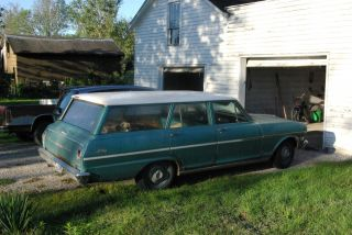 1963 Nova Wagon Chevy2 Stationwagon photo