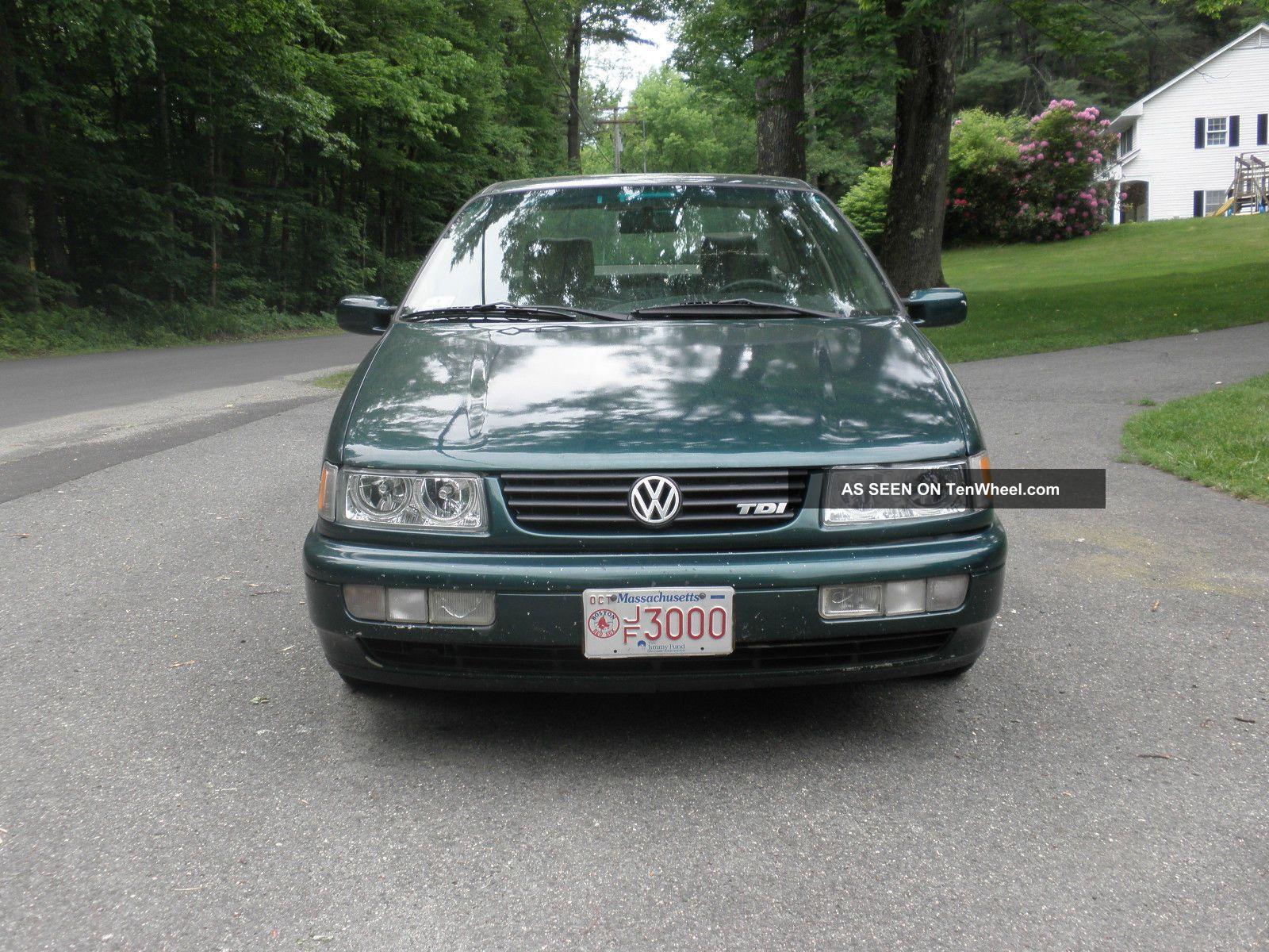 1997 Volkswagen Tdi Diesel 4 Door 5 Speed Overdrive Other Makes photo