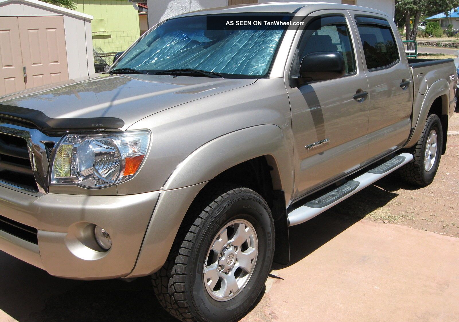 2008 Toyota Tacoma 4.  0l V6,  4wd,  4 Door Double Cab And Desert Color Tacoma photo