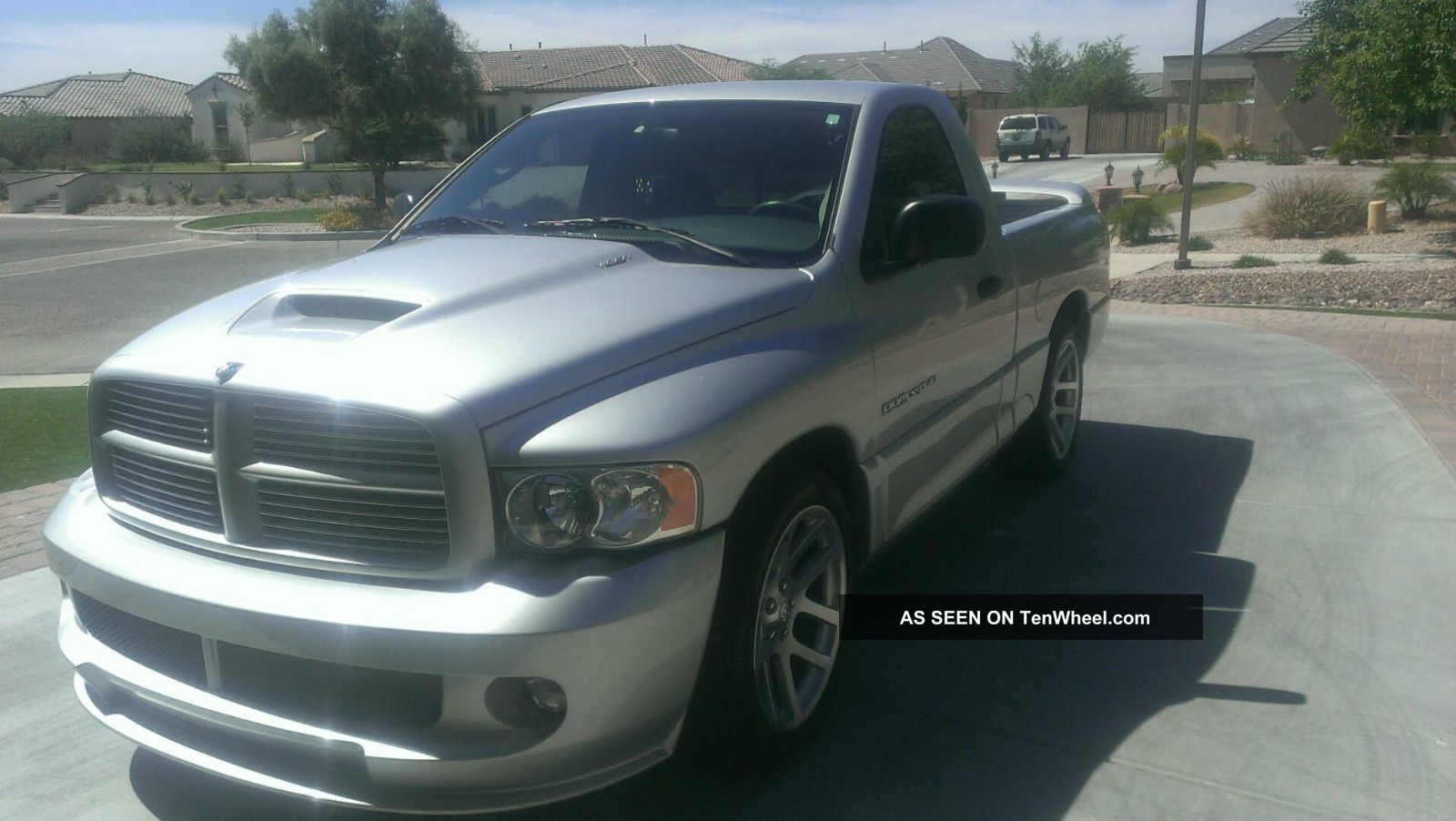 2005 dodge ram 1500 8 3 liter viper v10 engine regular cab 510 horsepower. Black Bedroom Furniture Sets. Home Design Ideas