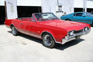 1967 Oldsmobile 442 Convertible 400ci Numbers Matching Power Top Steering Brakes photo