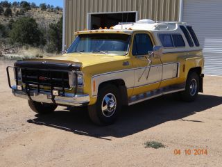 1979 Gmc Sierra Classic 35; Camper Special; 1 Ton Dually photo