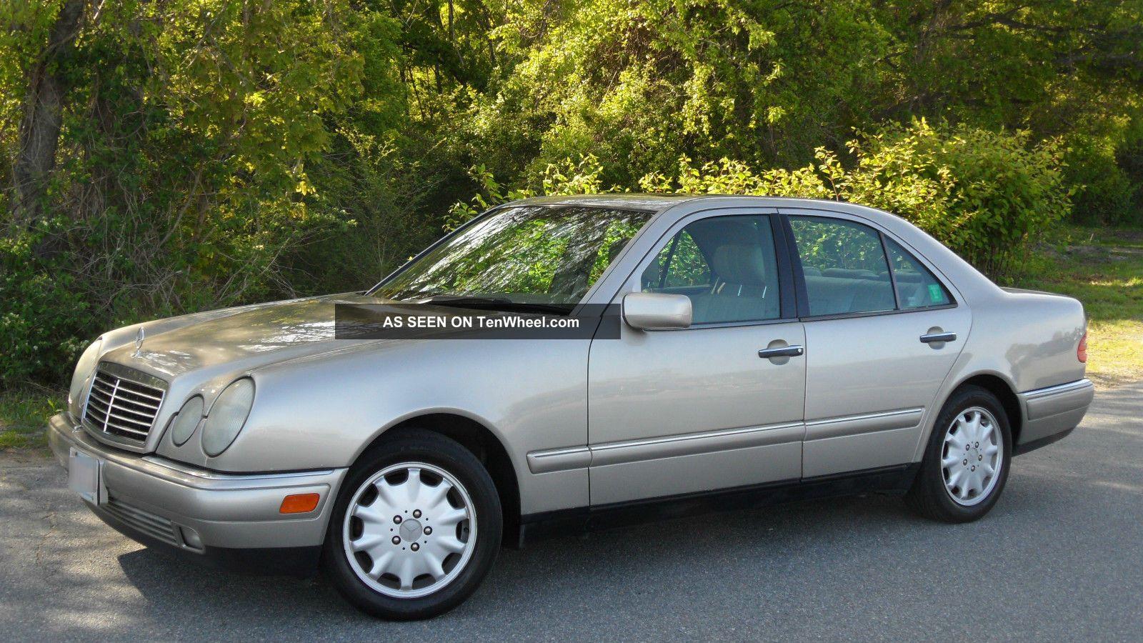 1998 mercedes benz e300 turbodiesel 4 door 3 0l 35 for Mercedes benz 1998