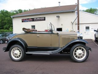 Completed To All Steel Orginal Motor 1931 Model A Roadster photo
