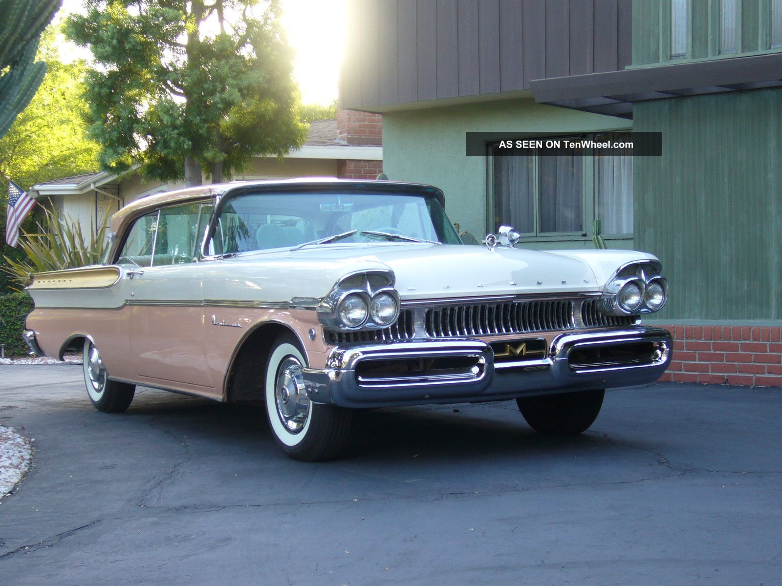 1957 Mercury Montclair 2 Door Hard Top 8 Cyl Good Condition Other photo