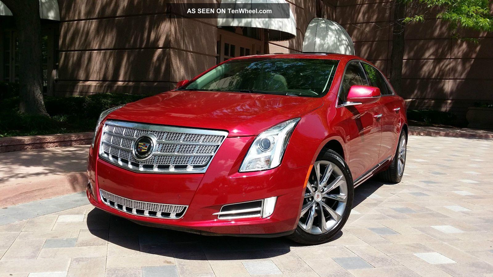 2013 Cadillac Xts Luxury Sedan 4 - Door 3.  6l Other photo