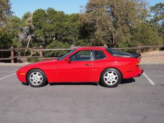 1989 944 Turbo S (951) - Red With White Interior - Very photo