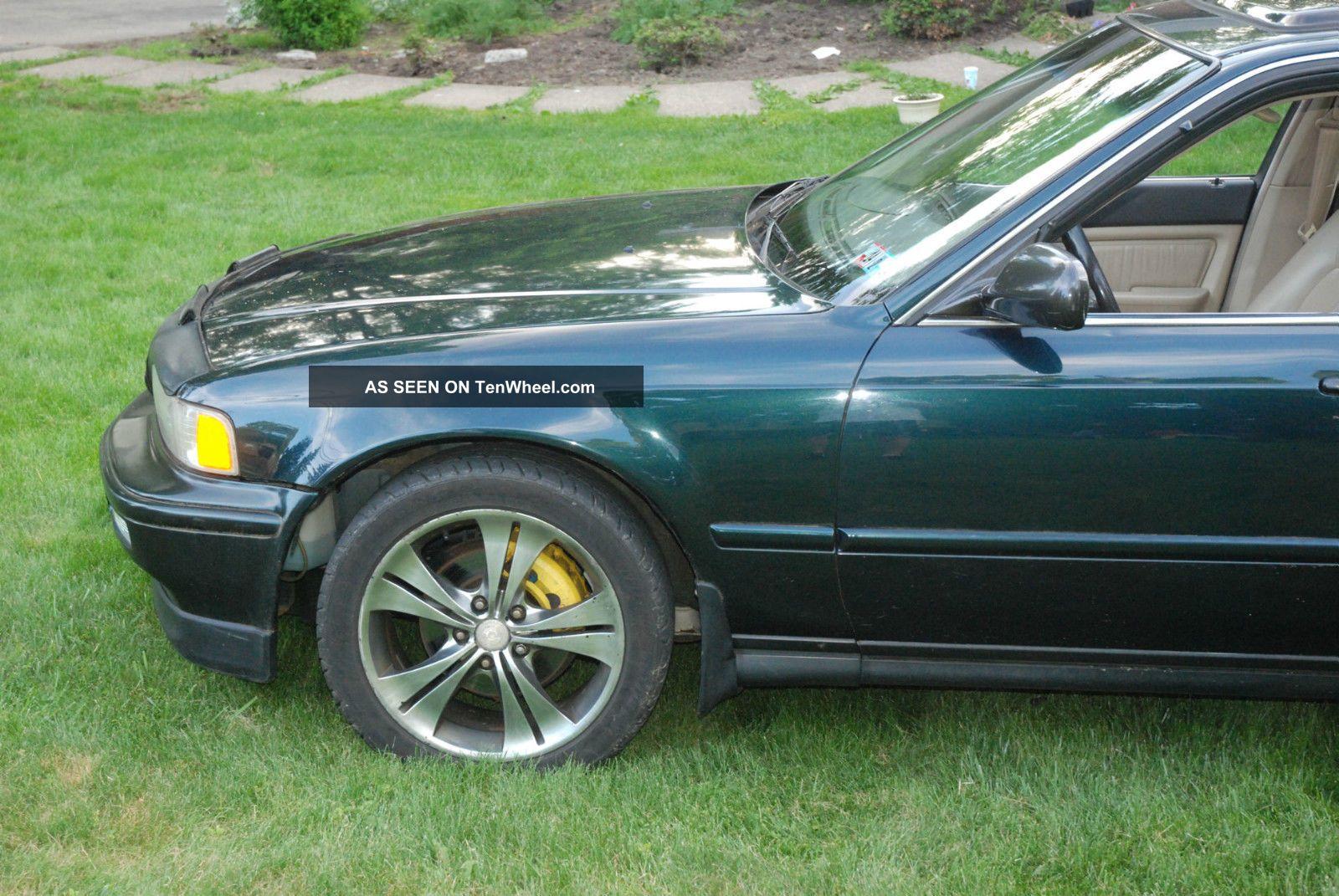 Acura Legend Gs Door Sedan Sherwood Pearl Green Ka Lgw