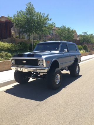 Extremely Supercharged 1970 K5 Blazer Cst Video. . .  No Resereve photo