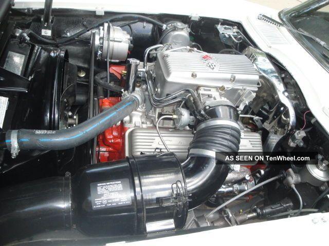 1963 Corvette Split Window Coupe 327 360hp Fuel