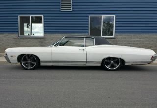 1968 Chevrolet Caprice 396 Th400 Buckets Console Tilt Wheel 68 Impala Ss photo