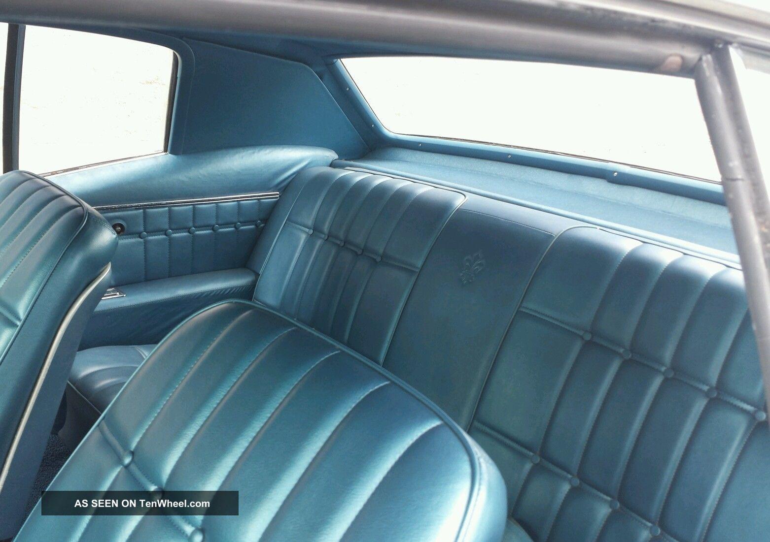 1968 Chevrolet Caprice 396 Th400 Buckets Console Tilt Wheel