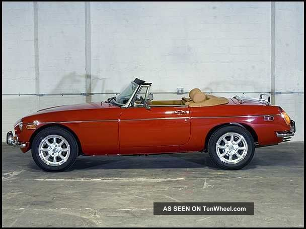 1974 Mgb 5 Speed Absolutely.  Literally Better Than MGB photo