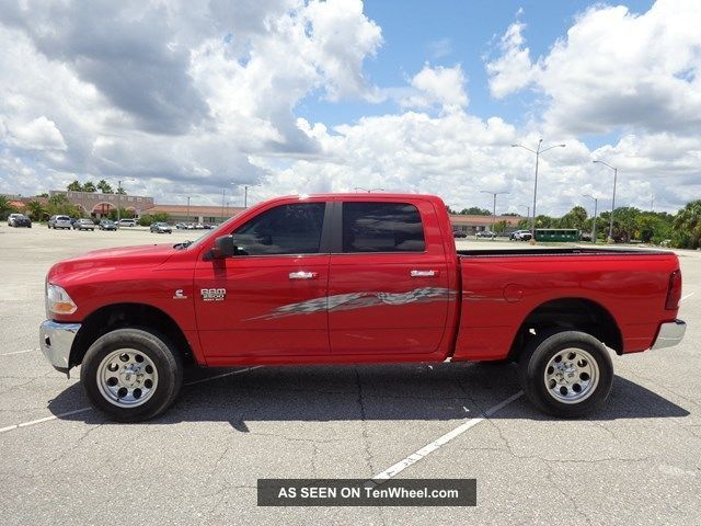 2012 dodge ram 2500 slt 4x4 crew cab 6 7l cummins turbo diesel 59k mi. Black Bedroom Furniture Sets. Home Design Ideas