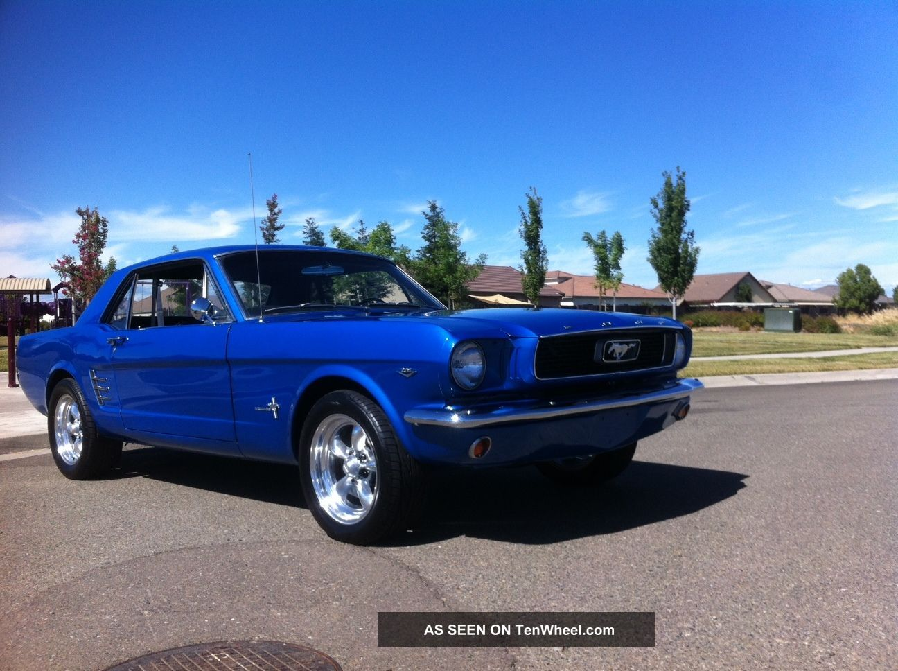 1966 65 ford mustang coupe 302 v8 just great buy. Black Bedroom Furniture Sets. Home Design Ideas