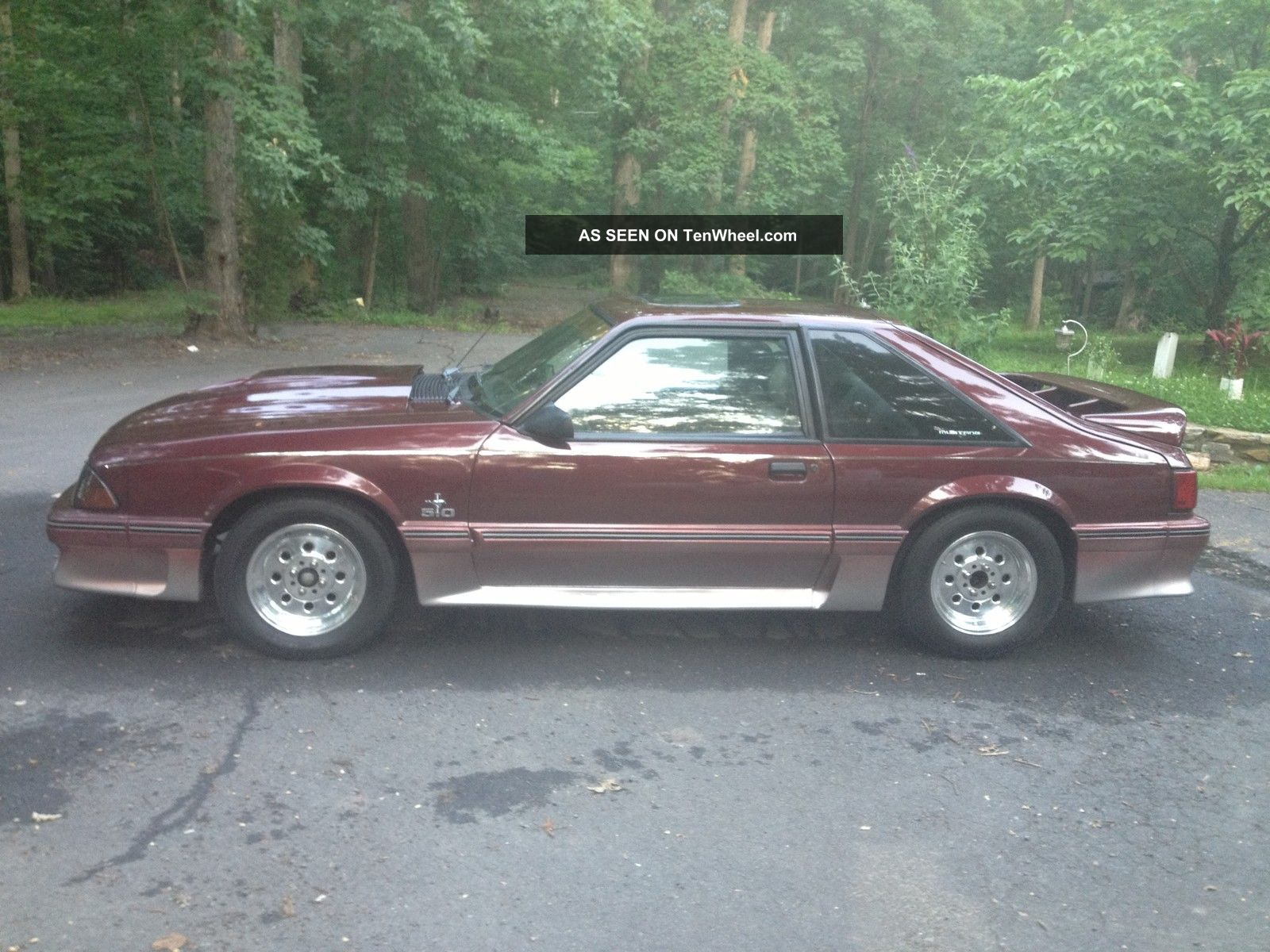 1987 Ford Mustang Fox Body Car Autos Gallery