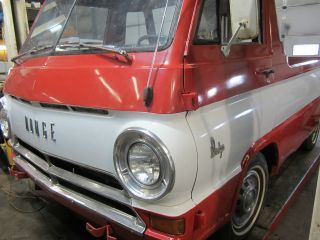 1966 Dodge A - 100 Pickup (rare 5 - Window Cab) photo