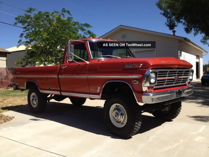 1969 Ford F - 250 Ranger Highboy 4x4